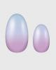 Selbstklebende Nagelfolie, Ombre Design, violett und blau