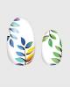 Selbstklebende Nagelfolie, transparentes Design, Blumenmuster