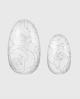 Selbstklebende Nagelfolie, transparentes Design, Blumenmuster silber