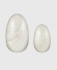 Selbstklebende Nagelfolie, schimmerndes Design, einfarbig weiß