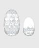 Selbstklebende Nagelfolie, transparentes Design, Ethno Muster