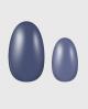 Selbstklebende Nagelfolie, verschiedene Blautöne
