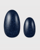 Selbstklebende Nagelfolie, blaues Glitzer