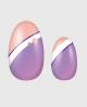Selbstklebende Nagelfolie, gemustertes Design