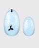 Selbstklebende Nagelfolie, Sommerdesign, blau mit Wal