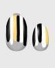 Selbstklebende Nagelfolie, transparentes Design, Streifen