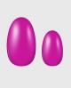 Selbstklebende Nagelfolie, neon pink