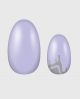 Selbstklebende Nagelfolie, metallic Design, Klekse